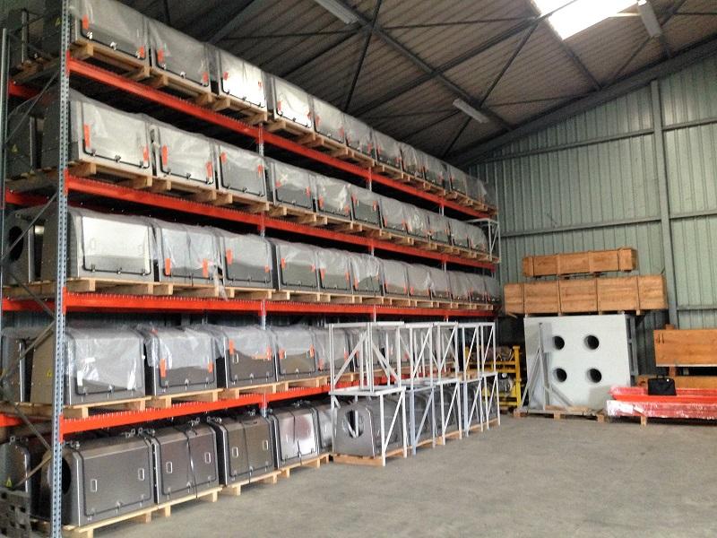 stockage entreposage logistique